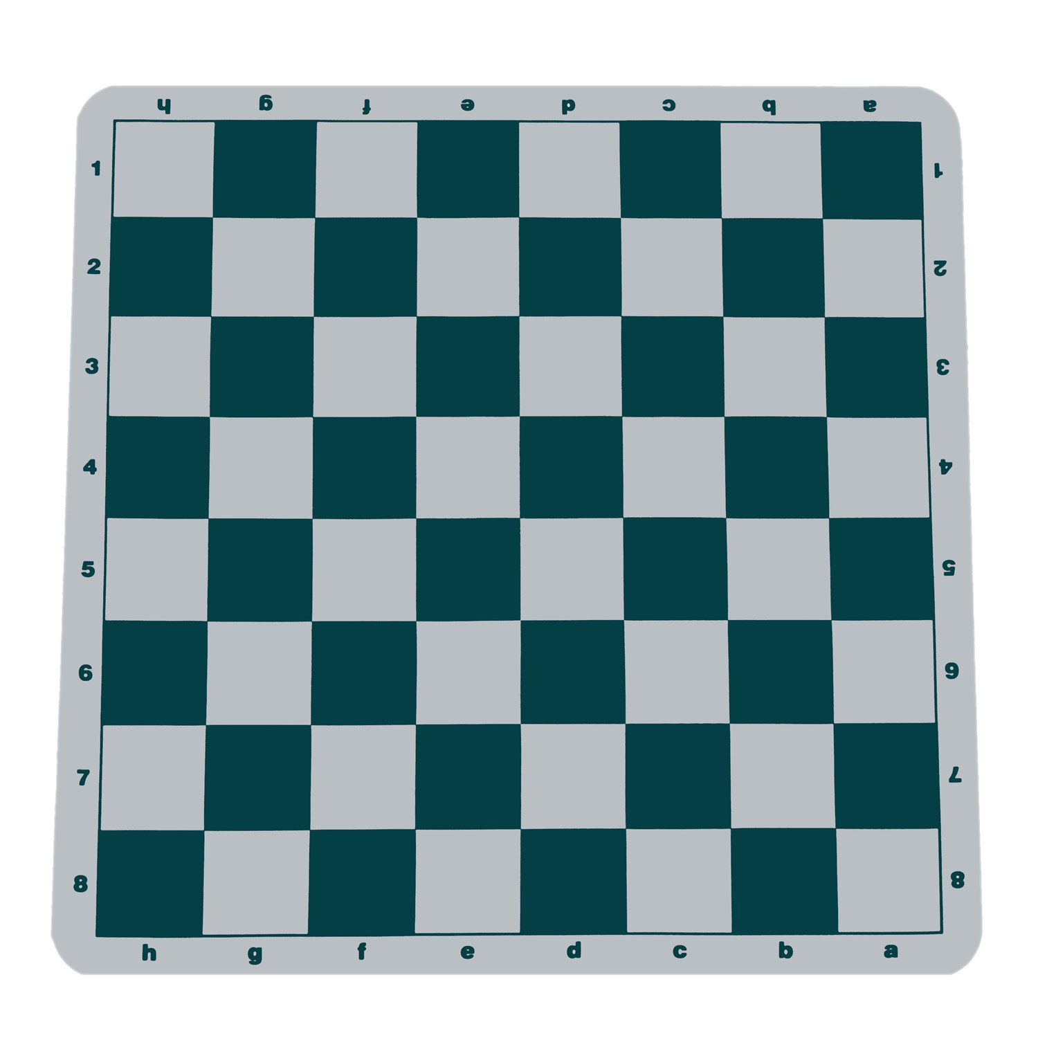 We Games Green Silicone Tournament Chess Mat 19 75 Inch