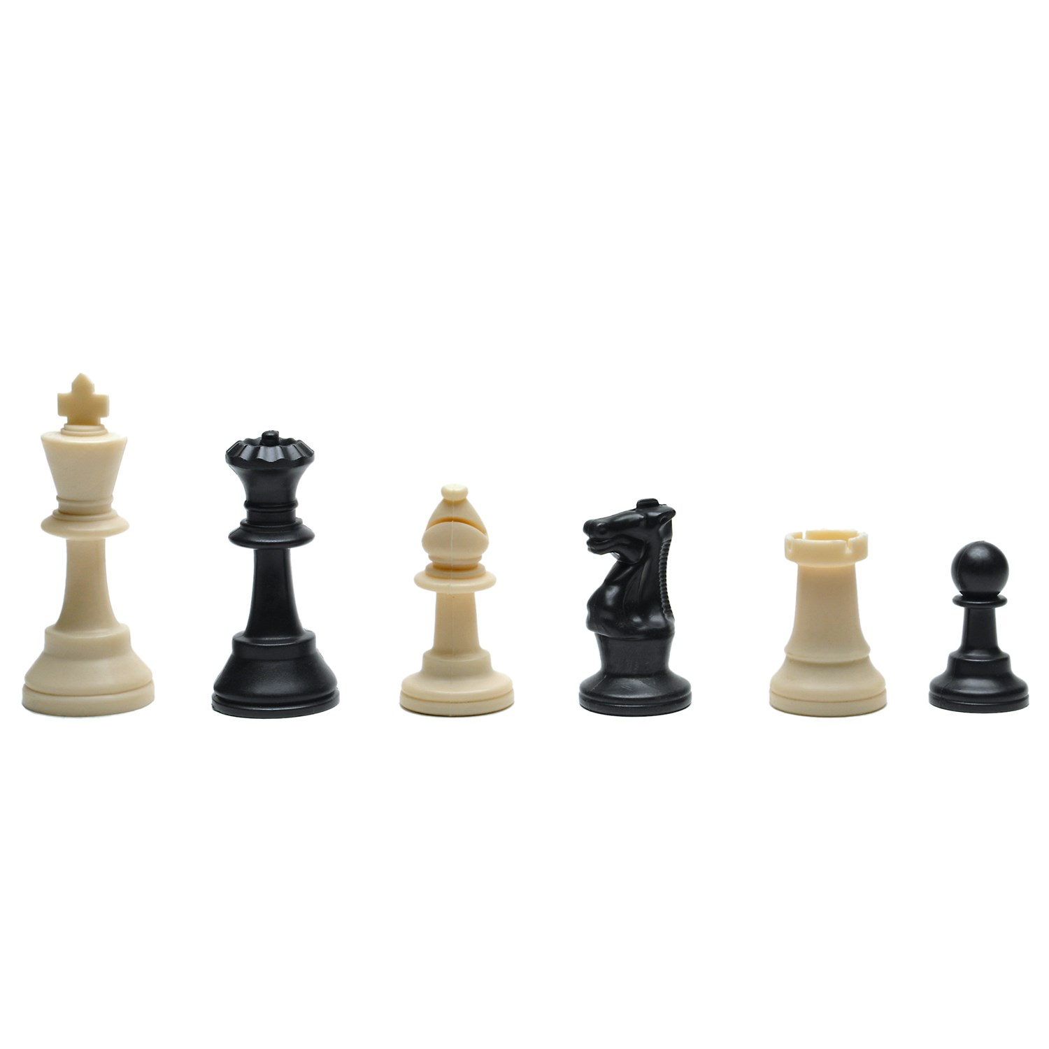Deluxe tournament chess set with black canvas bag with triple weighted staunton chess pieces 3 - Deluxe chess sets ...