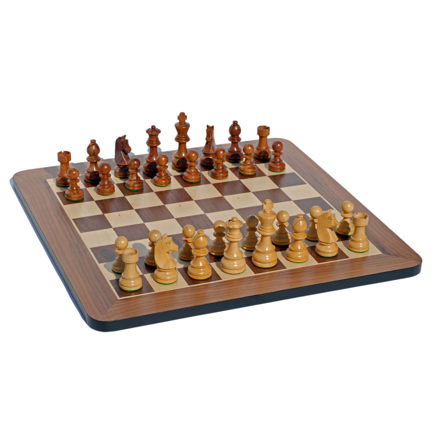 Grand Staunton Chess Set Tournament Size Weighted Pieces