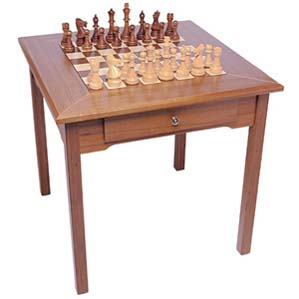 3 in 1 teakwood game table with 2 drawers for storing for 12 in 1 combination table
