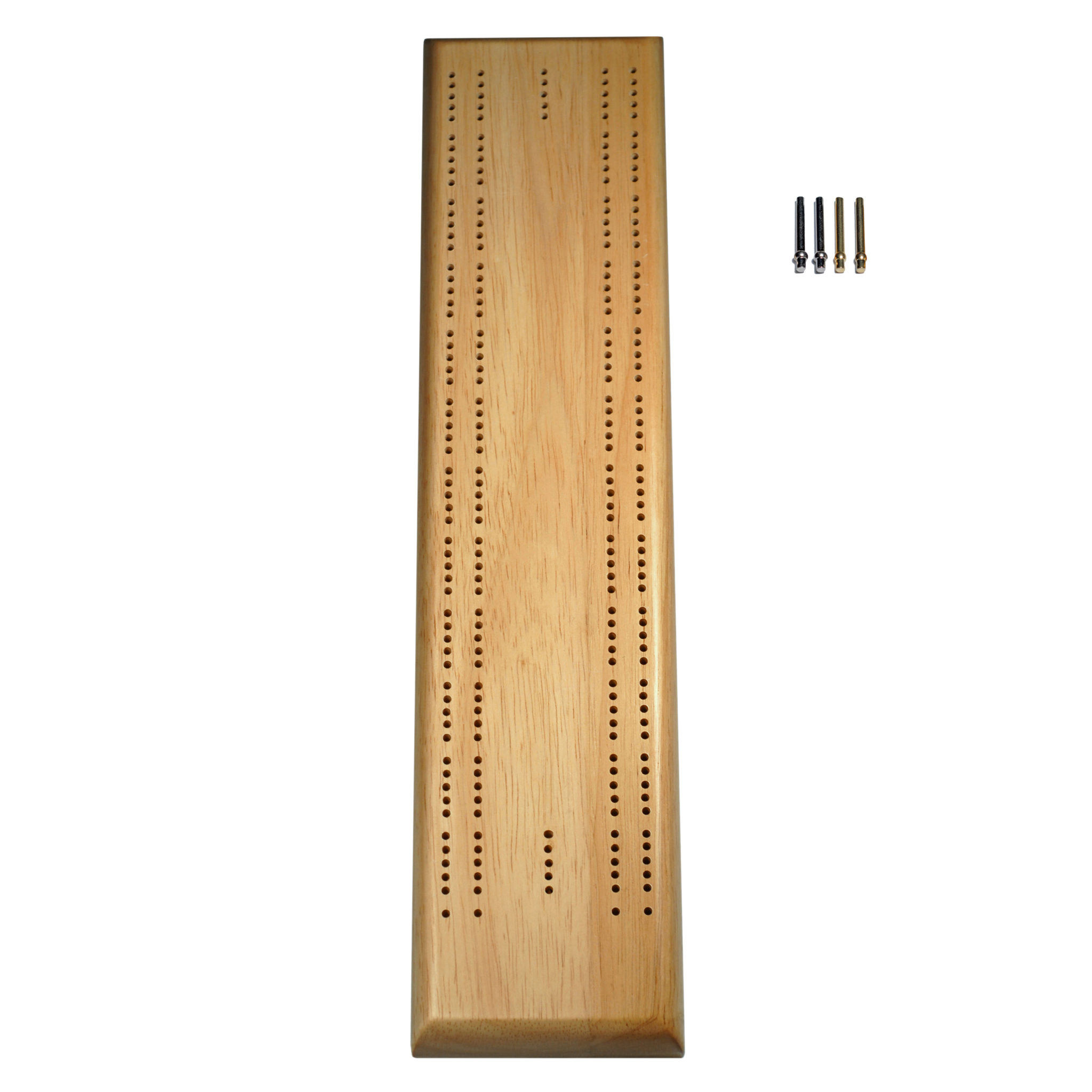 Competition Cribbage Set Solid Wood Sprint 2 Track Board