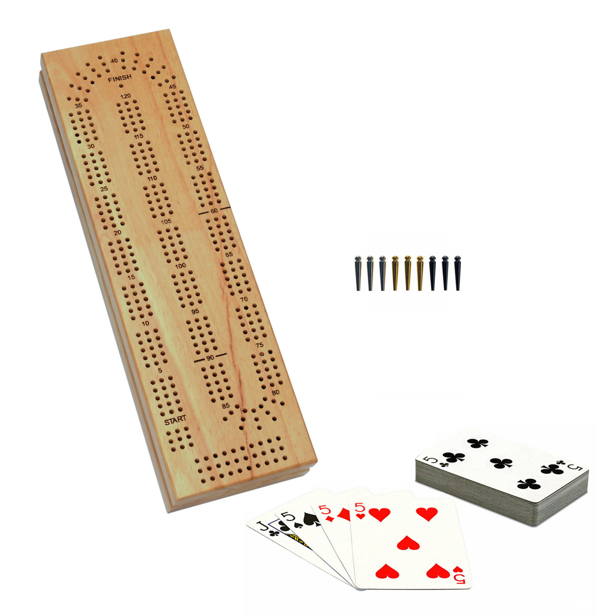 how to play cribbage without the board