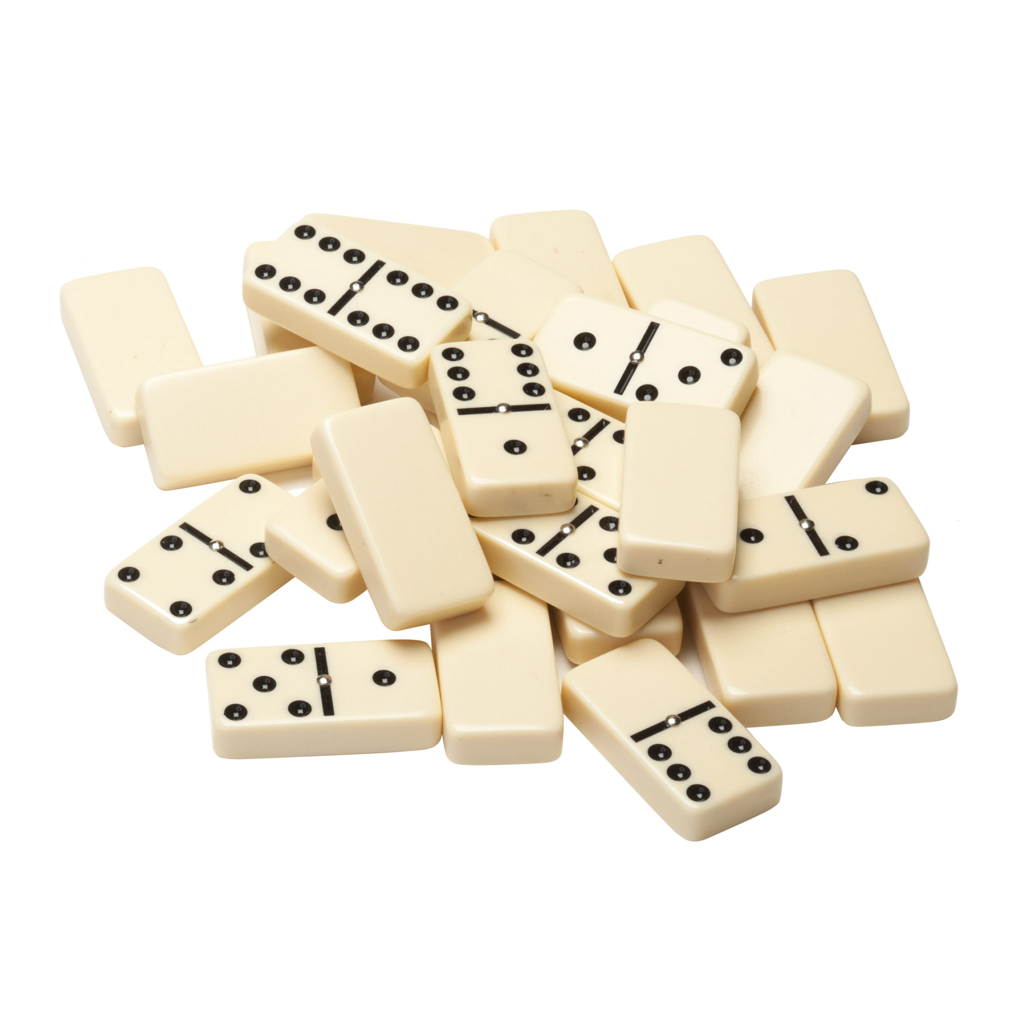 double six dominoes with spinners ivory tiles club size wood expressions. Black Bedroom Furniture Sets. Home Design Ideas