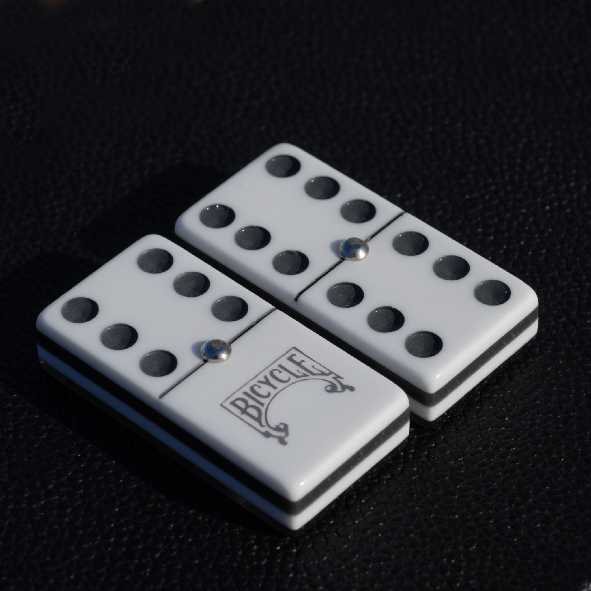 Luxury Domino Case Double 6 Wood Expressions