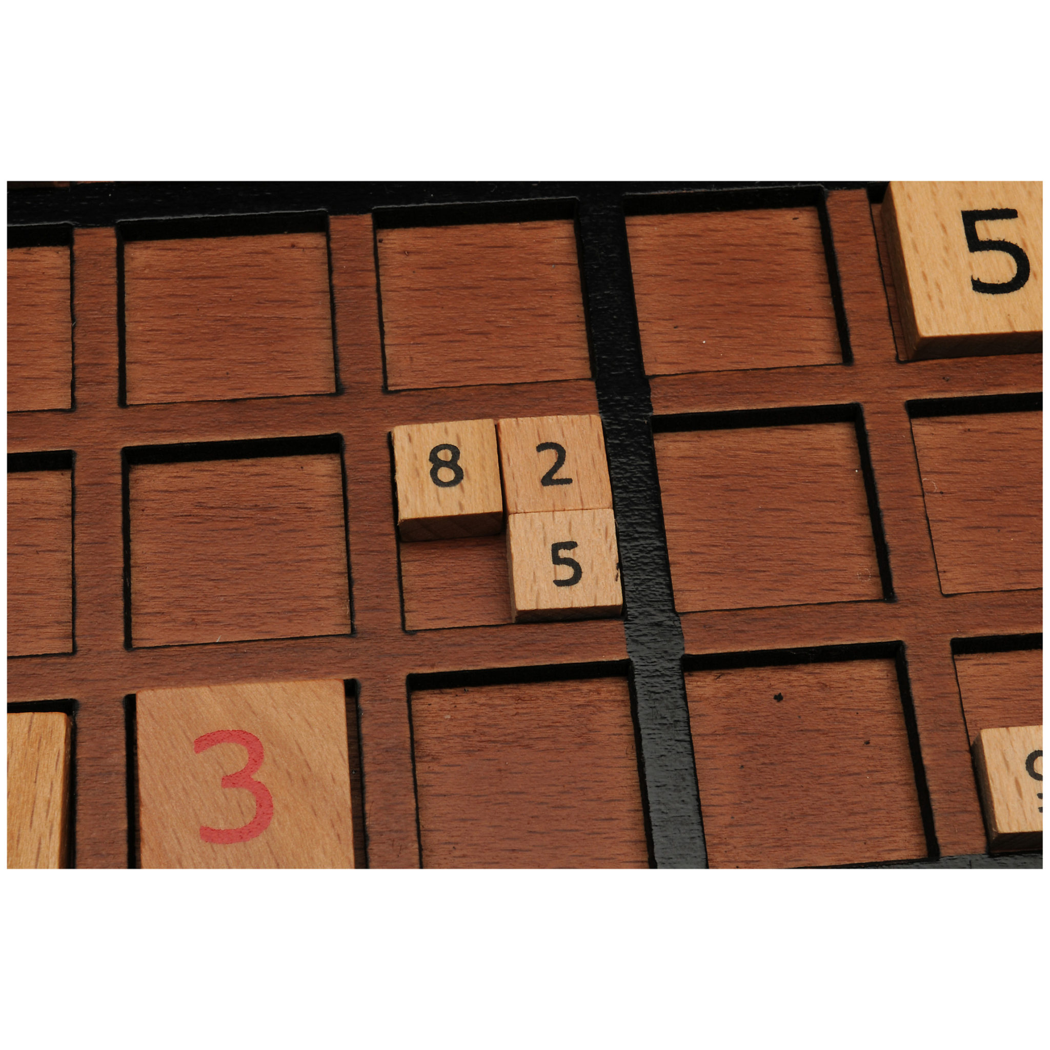 Sudoku Board With Storage Slots Wood Expressions