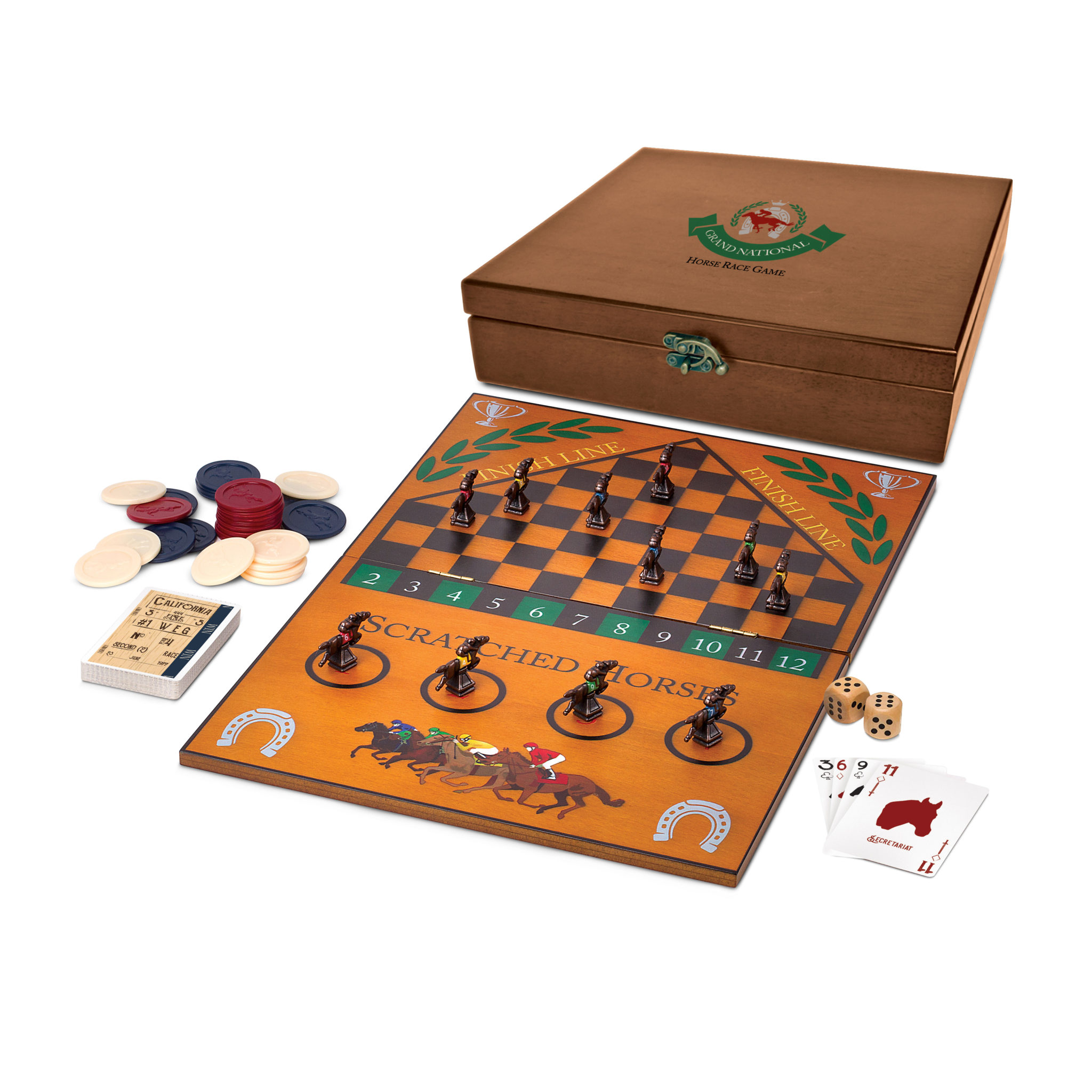 Grand National Horse Race Game Wood Expressions