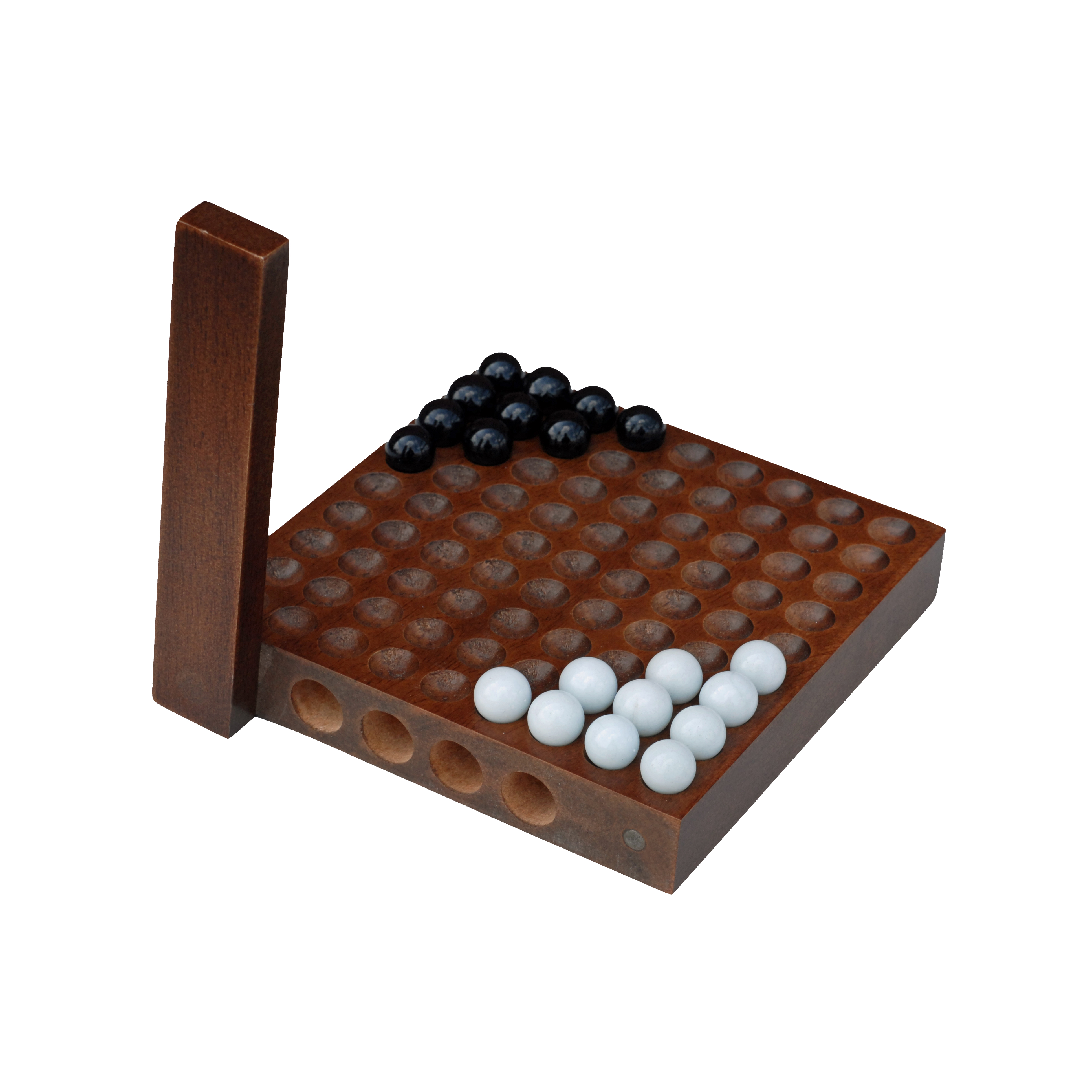 Classic Chinese Checkers 5 Inch Travel Size Wood