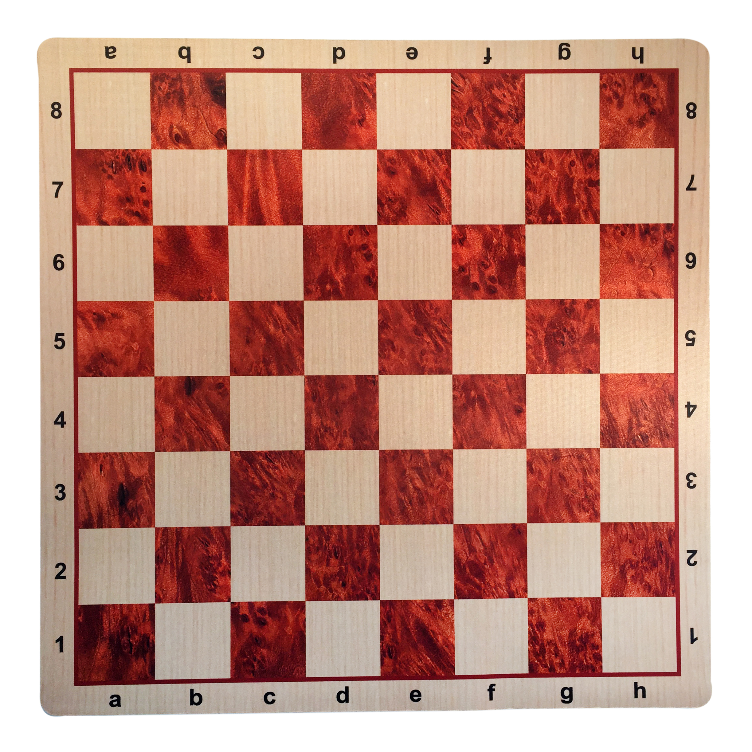 WE Games Camphor & Oak Mousepad Chessboard, 20 inches – made in USA