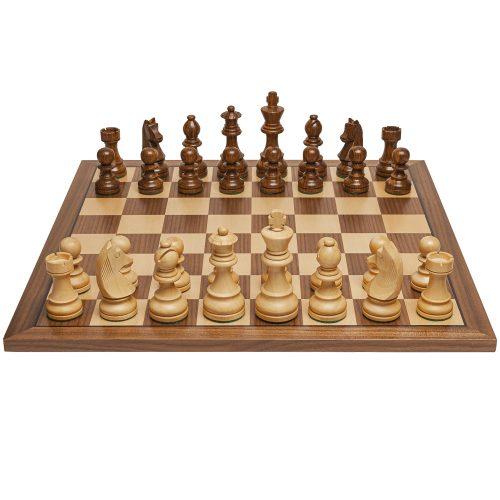 staunton chess set wooden
